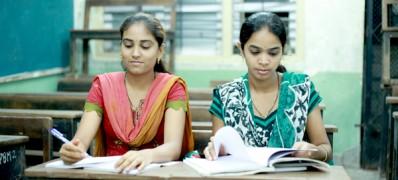 Students at Shivaji Night High School