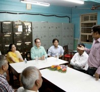 A visit to Social Service Night School and Jr. College